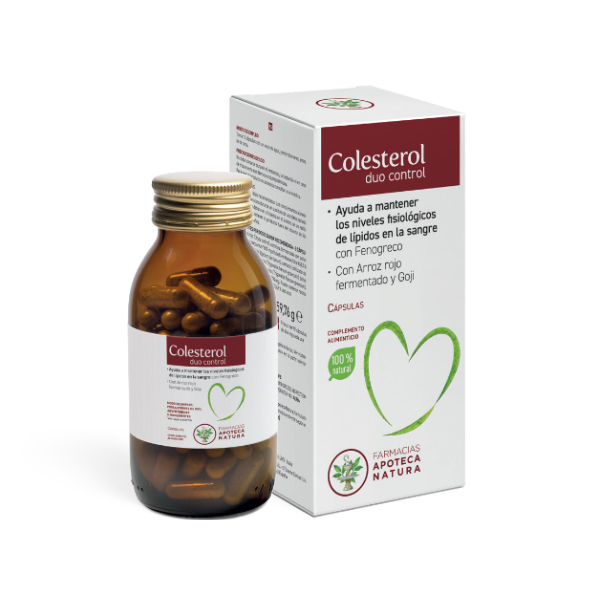Colesterol duo control - Apoteca Natura